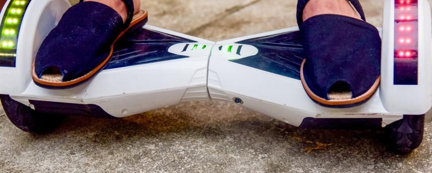 Smartwatch et Hoverboard